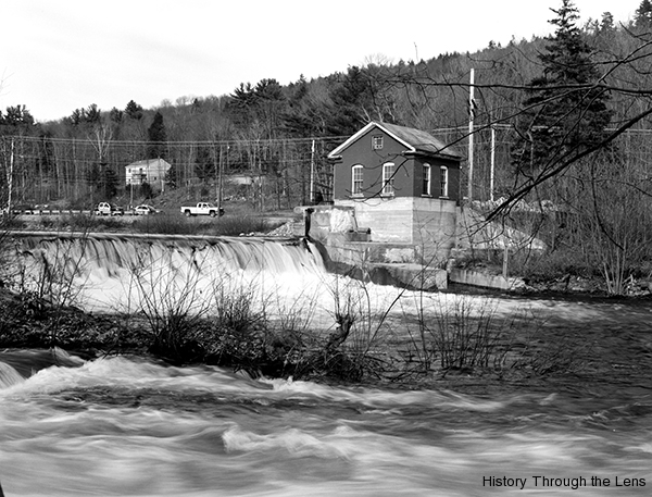 Dam and powerhouse