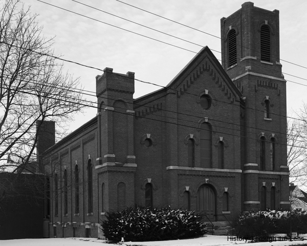 West Genesee UM Church, facade