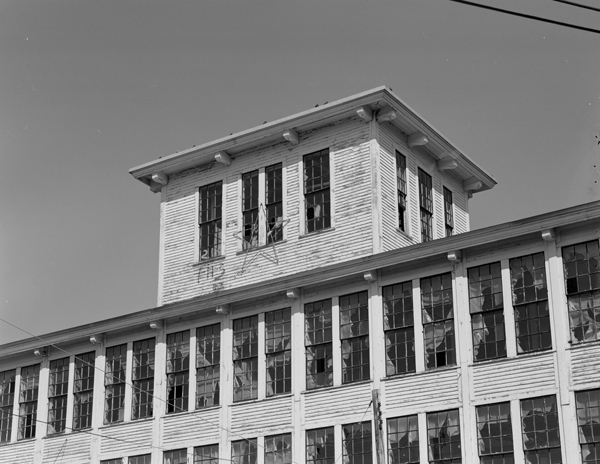 Cupola Detail on Main Mill
