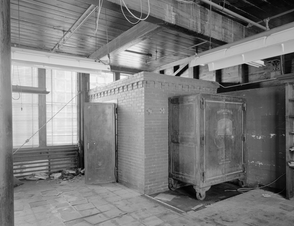 Office Building, 1st Floor, Safes