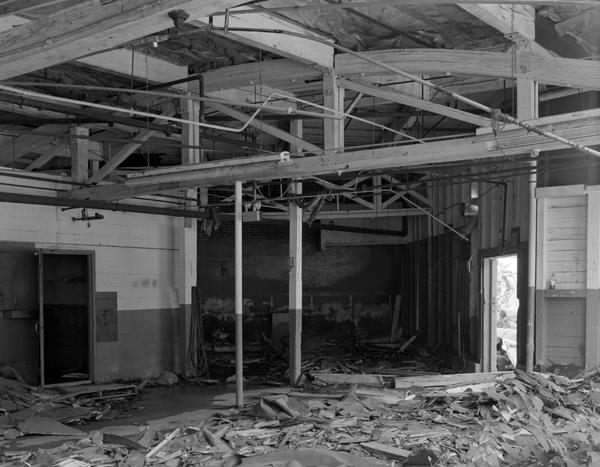 Generator Building interior