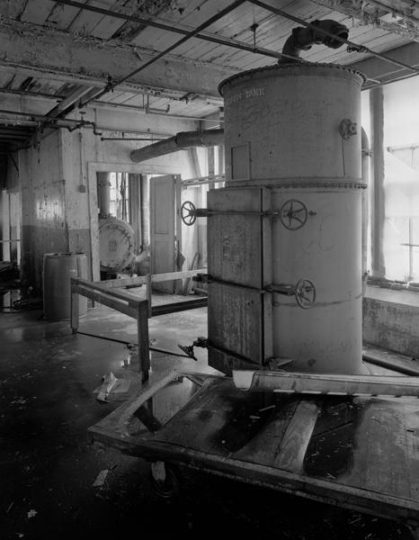 Mill Interior, vacuum tank detail