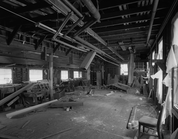 Wood Shop interior
