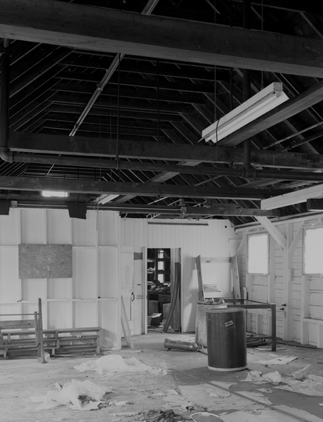 Machine Shop interior, 2nd floor