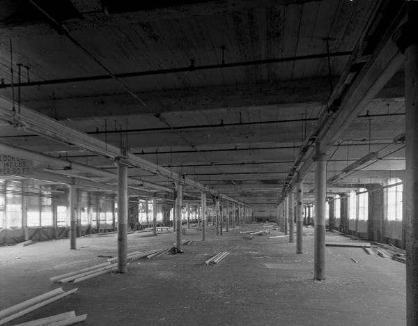 Mill Building, interior
