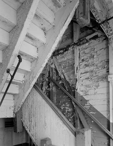 Mill Building, staircase detail