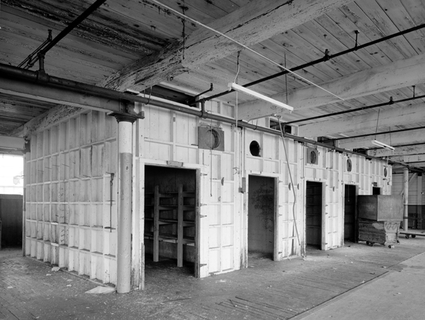 Mill Building, storage rooms