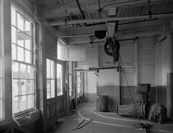 Mill Building, 4th floor pulley detail