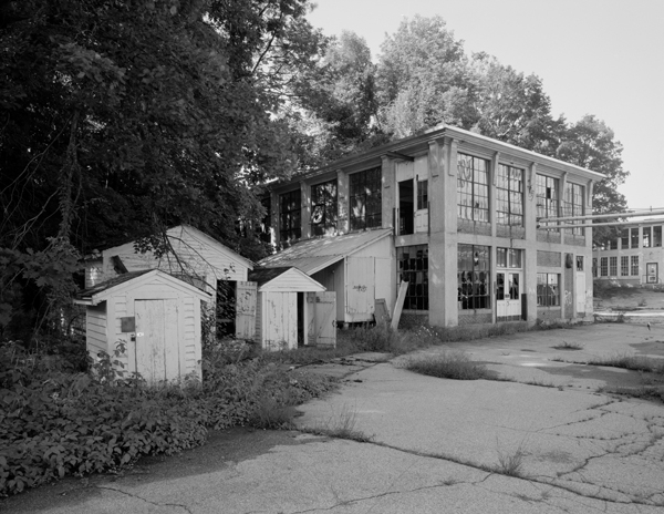 Picker House, with outbuildings