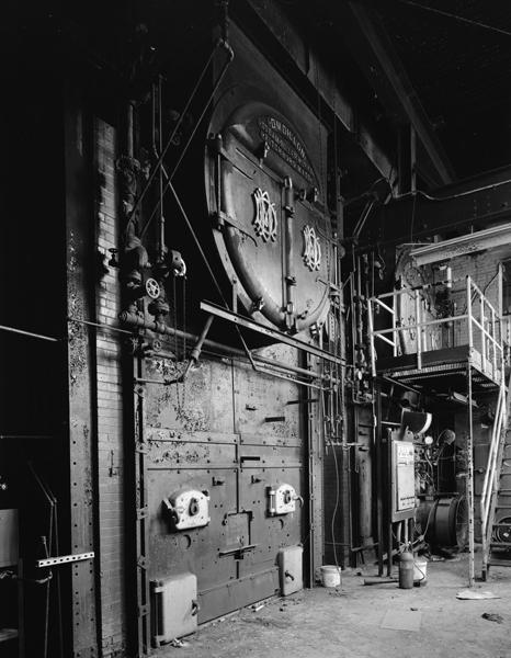 Boiler Building, boiler detail