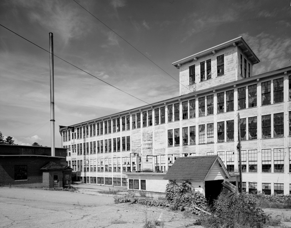 Mill Building looking NW