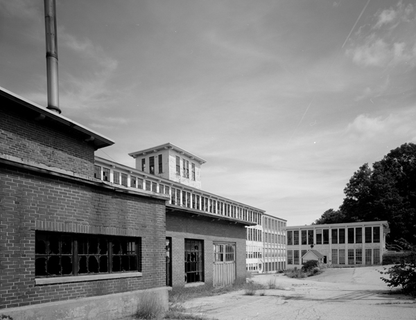 Mill Complex looking E