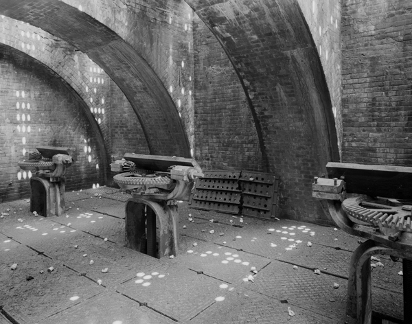 New Croton Dam-lower level of Gatehouse 2
