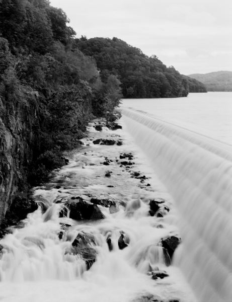 New Croton Dam-spillway channel