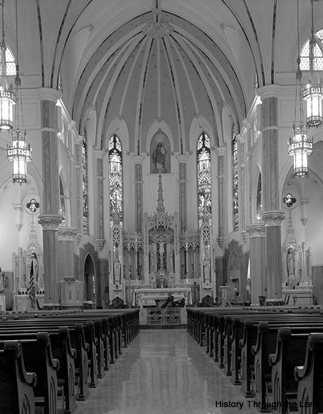 Sacred Heart Basilica-interior
