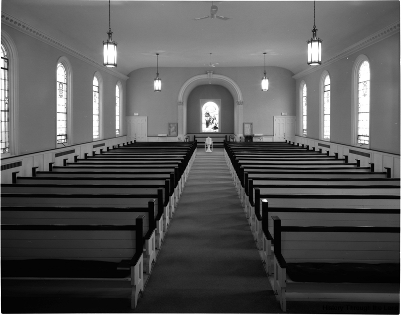 First Calvary Church-interior view from pulpit