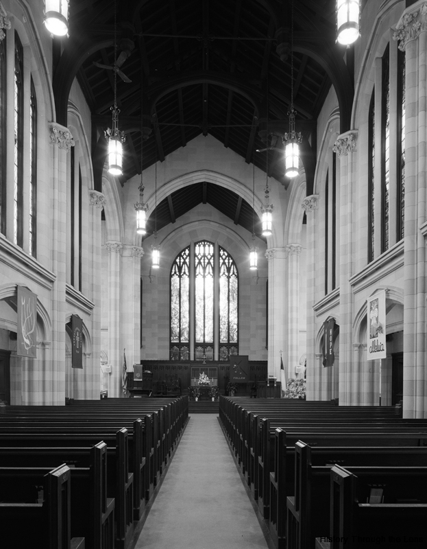 First Presbyterian Church-view toward pulpit