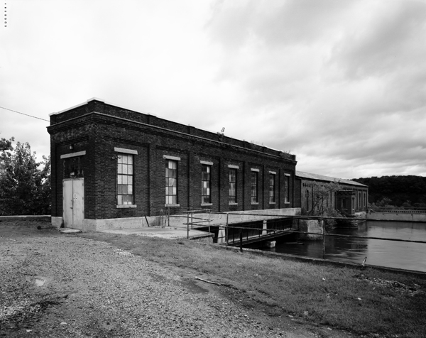 Upper Gatehouse-downstream facade