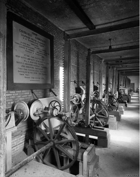 1866 section, with builders plaque