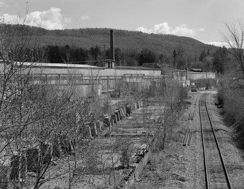 VT Marble Factory looking south