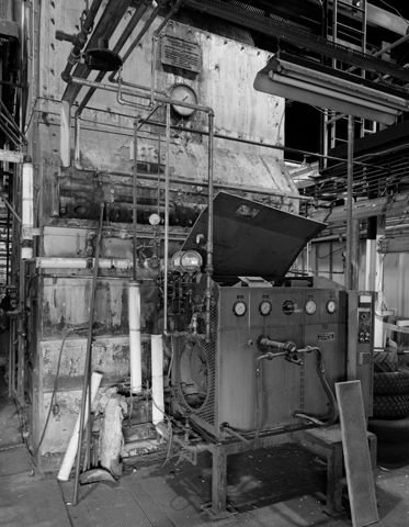 Boiler bulidng interior