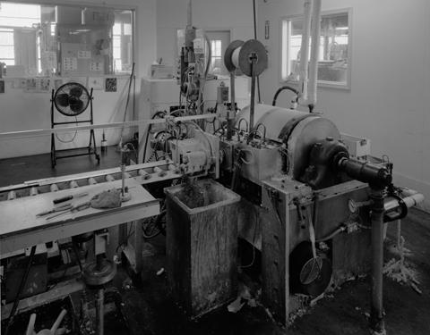 Factory interior-extruder
