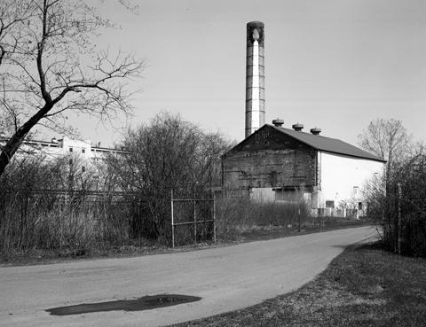 Boiler building exterior