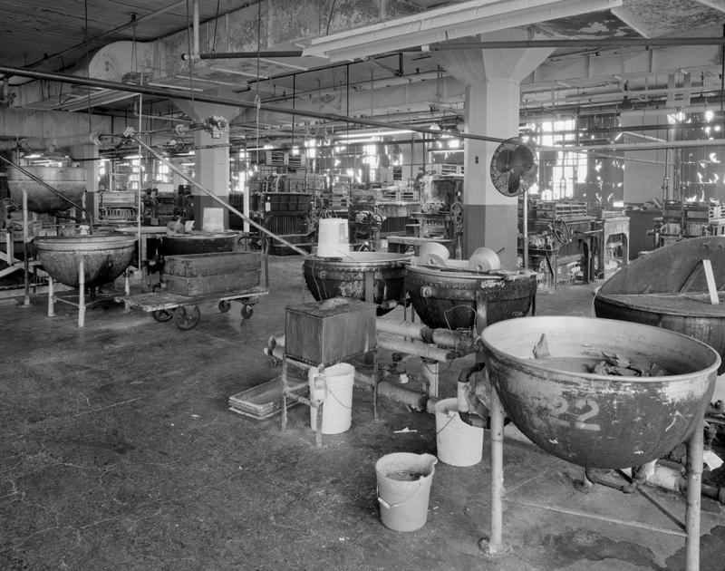 Factory interior-2nd floor
