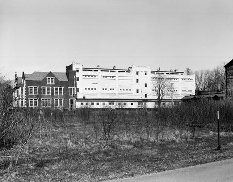 Factory Building exterior