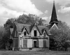 Gothic Cottage-oblique looking SE